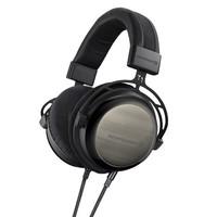 beyerdynamic 拜亚动力 T1 二代 Tesla 特斯拉 旗舰级头戴式耳机(600Ω、可换线、黑色特别版)