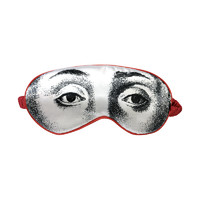 HuXi 西方创意眼睛真丝眼罩 西方眼睛