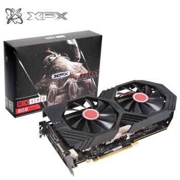 XFX讯景 RX590 8G黑狼游戏显卡