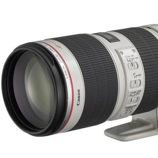 历史低价 : Canon 佳能 EF 70-200mm F/2.8L IS II USM 中长焦变焦镜头
