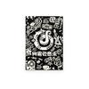 云音乐涂鸦风笔记本 黑色 26.3元