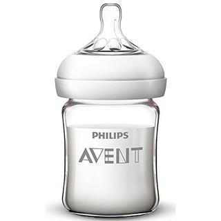 中亚Prime会员 : AVENT 新安怡 SCF678/17 自然顺畅 宽口径玻璃奶瓶 125ml *3件