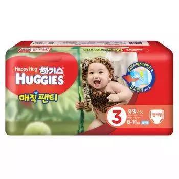 Huggies 好奇 魔术装成长裤 M46片 *5件