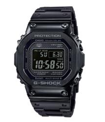 CASIO 卡西欧 G-SHOCK  GMW-B5000D-1PR 男士太阳能腕表 周年限定款 金属表带