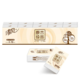 清风 原木纯品系列 手帕纸 3层10包