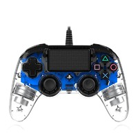SONY 索尼 PlayStation4(PS4)透明炫光 游戏手柄 有线版