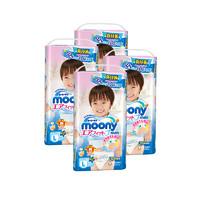 moony 尤妮佳 男婴拉拉裤 L44片*4包装