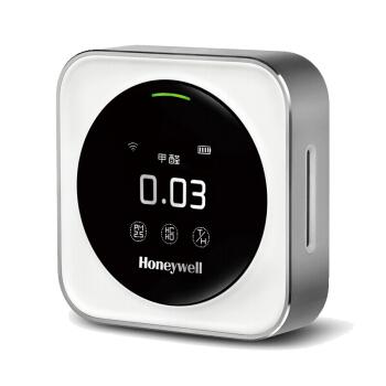 霍尼韦尔(Honeywell)甲醛检测仪HAQSPA 六合一TVOC,自测pm2.5雾霾表温湿度 监测表