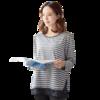 孕产妇长袖哺乳T恤(含隐形拉链) 87.2元