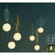 设计师的灯 马卡龙叶子吊灯 单只