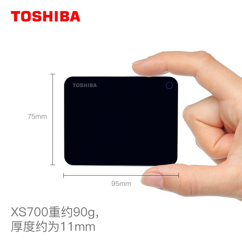 东芝移动固态硬盘960G高速USB3.1便携加密Type-C移动硬盘 苹果MAC外置SSD移动盘硬 移动硬固态盘手机硬盘非1t