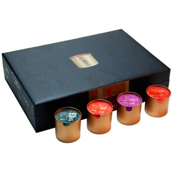 煮者茶叶 小金罐装 大红袍铁观音金骏眉正山小种 尊享拼装茶12罐/盒