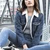 Gap 盖璞 879502-1 女装加绒牛仔外套夹克