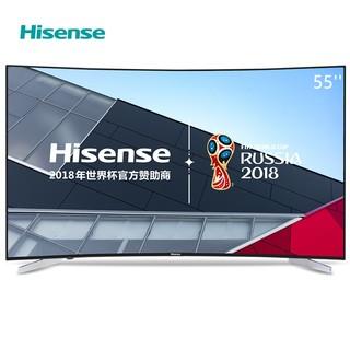 Hisense 海信 LED55E7CY 55吋4K曲面智能液晶电视机