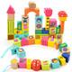 特宝儿 topbright 森林动物串珠积木玩具木质宝宝积木拼插益智玩具儿童女孩男孩1-3岁 *4件