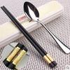 学生筷子勺子套装三件 6.9元(需用券)