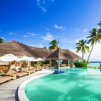 海岛游:免费出海!全国多地-马尔代夫中央格兰德岛7天5晚(2晚沙屋+2晚水屋+三餐+软饮)