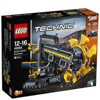 值友专享、绝对值:LEGO 乐高 科技系列 42055 斗轮挖掘机