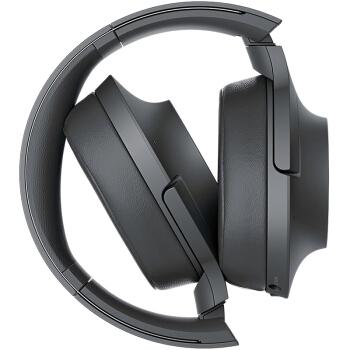 SONY 索尼 耳机 (通用、动圈、头戴式、灰黑)