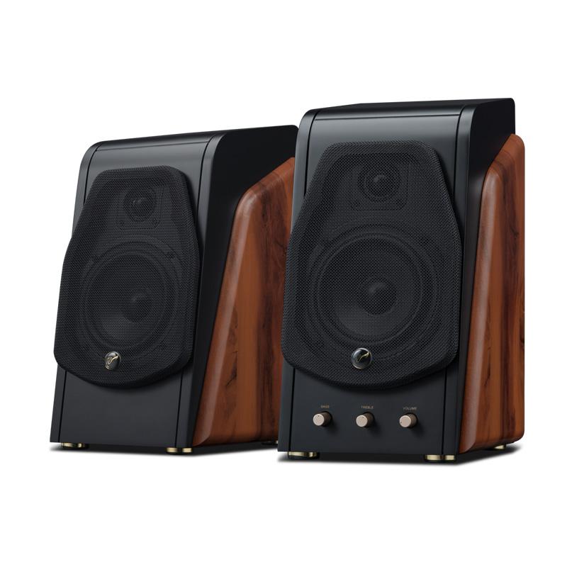 HiVi 惠威  M200A Hi-Fi音箱 (2.0、有源、巧克力色)