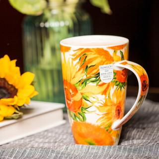 DUNOON 骨瓷茶杯 梵高-向日葵 600ml