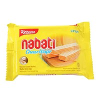 Richeese丽芝士纳宝帝奶酪威化饼干58g(印尼进口 袋)