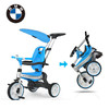 BMW 宝马 儿童三轮车 标准版 遮阳款 蓝色