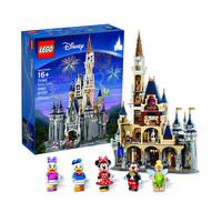LEGO 乐高 迪士尼系列 71040 迪士尼乐园城堡