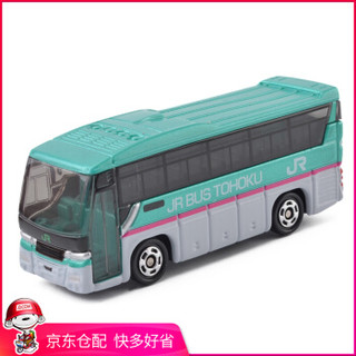 TAKARA TOMY 多美卡 儿童玩具合金汽车收藏摆件-铃木JR巴士