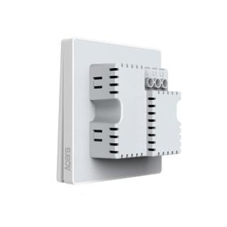 AQara 绿米 QBKG12LM 智能墙壁开关 单火版-双键(无零线也能用)