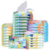 nuby(努比)婴儿湿巾 8抽32包 *4件 129.6元(合32.4元/件)