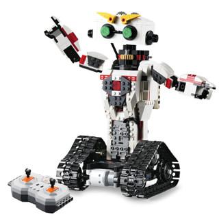 DOUBLE E 双鹰 C51027 咔咔机器人 拼装积木益智