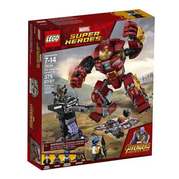LEGO 乐高 超级英雄FI 76104 反浩克装甲