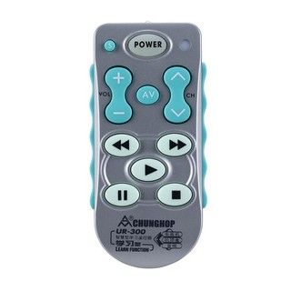 CHUNGHOP 众合 L102 学习型通用遥控器(银白色)  各种经红外线遥控的家电设备都适用