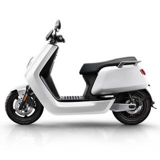 小牛 N 青春版电动踏板车 白色 青春标准版