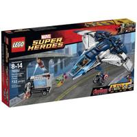 LEGO 乐高 超级英雄系列 76032 复仇者联盟-美国队长奥创昆式战机