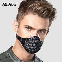 Mehow 液态硅胶时尚运动口罩 象牙白A3