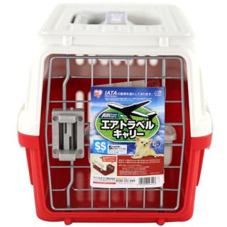 IRIS 爱丽思 ATC460 宠物航空箱 红色 46*28.5*28cm