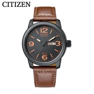 CITIZEN 西铁城 BM8475-26EB 男士骚橙光动能手表