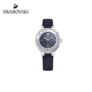 SWAROVSKI 施华洛世奇 5242898 LOVELY CRYSTALS MINI 女士简约手表 黑色