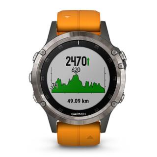 GARMIN 佳明 Fenix 5 Plus 智能户外运动手表
