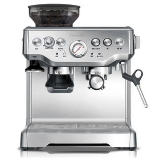 Breville 铂富 BES870XL 带磨豆器 半自动咖啡机
