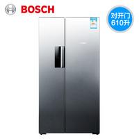 BOSCH 博世 BCD-610W(KAN92V48TI) 对开门冰箱