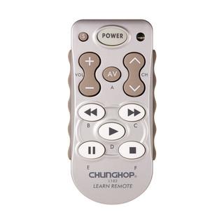 CHUNGHOP 众合 L102 通用学习型遥控器(银白色)各种经红外线遥控的家电设备都适用