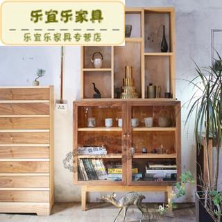 MUMO 木墨 玻璃三层柜