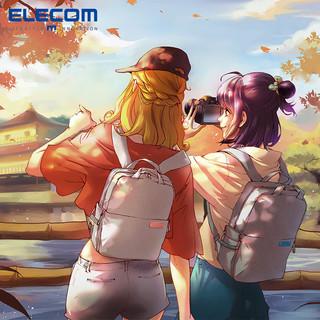 ELECOM 宜丽客 off toco DGB-S041 S035简约背包相机包