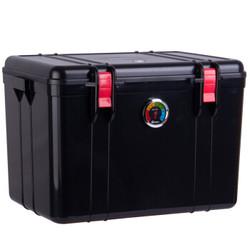 锐玛(EIRMAI) R21 防潮箱 干燥箱 防霉箱 镜头防水密封箱 大号 送大号吸湿卡 炫黑色 *2件