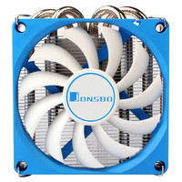 JONSBO 乔思伯 HP400 下压式CPU散热器 银色