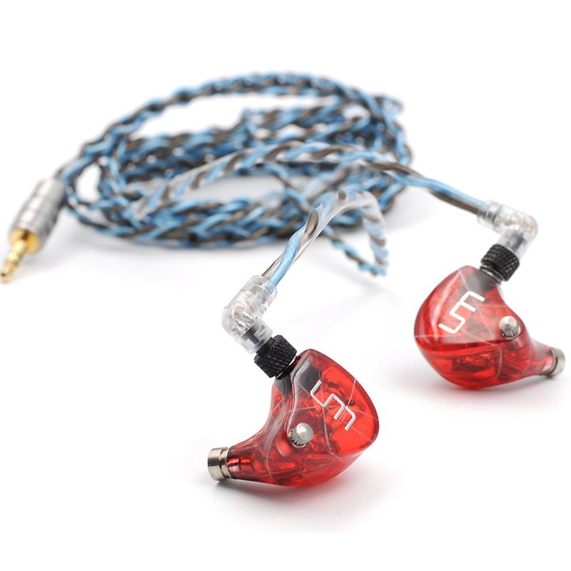 Unique Melody  mentor V3 耳机 (动铁、入耳式、黑色/蓝色/红色)