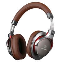 audio-technica 铁三角 ATH-MSR7 ATH-MSR7 便携头戴式HIFI耳机 灰色